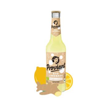Proviant Bio Limonade Ingwer & Zitrone Naturtrüb 0,33l