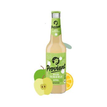 Proviant Bio Schorle Apfel Naturtrüb 0,33l