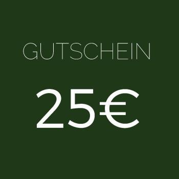 GUTSCHEIN IM WERT 25 EUR