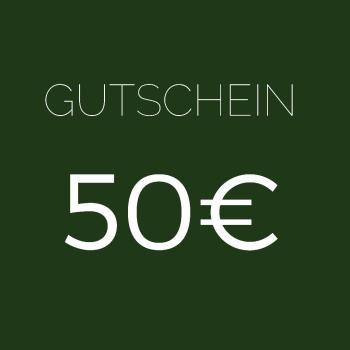 GUTSCHEIN IM WERT 50 EUR
