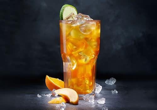 Eistee Pfirsich-Orange