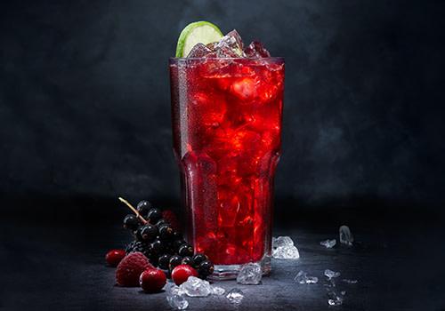 Eistee Rote Früchte