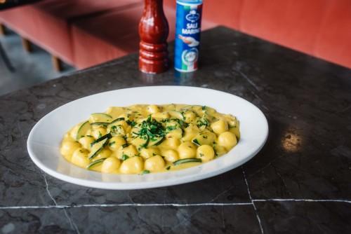 Gnocchi Zucchini Zafferano