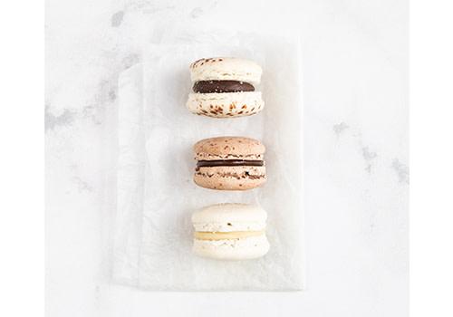 3er Macaron Box