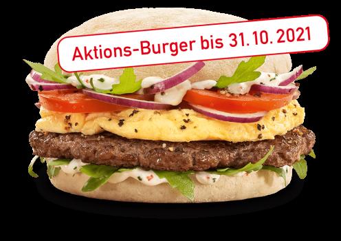 Angus & Egg Burger