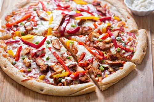 Pizza Beef & Bacon