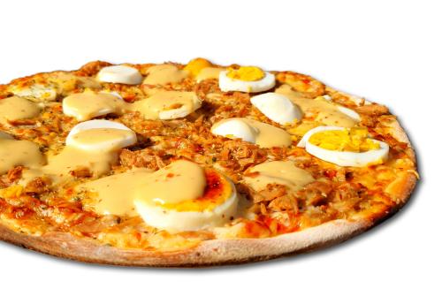 Pizza Honey Fish medium