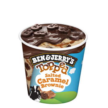 Ben & Jerry's Topped Salted Caramel Brownie 438ml
