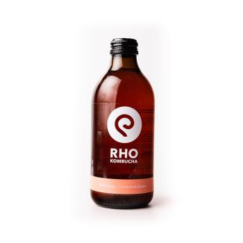 Rho Kombucha Hibiskus - Rosenblüte 0,33L