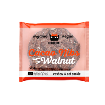 Kookie Cat Kakaobohnen Walnüssen Vegan 50g