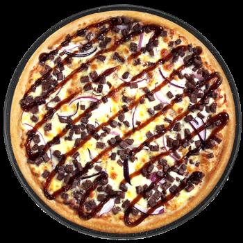 Pizza West BBQ (klein)