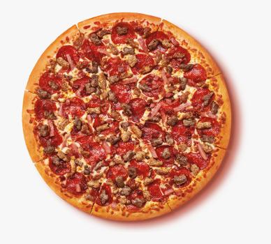 Pizza Fleisch (klein)