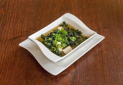1a - Miso Sake Suppe