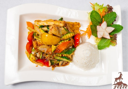 33 - Tofu Sa Ot (scharf)