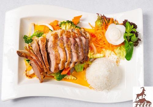 50 - Ente Thai Curry (leicht scharf)