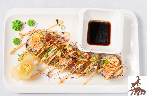 S35 - Crispy Sushi Salmon