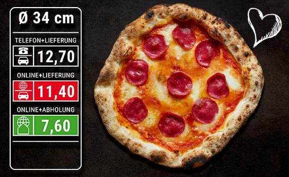Pizza Salami  Ø 34cm