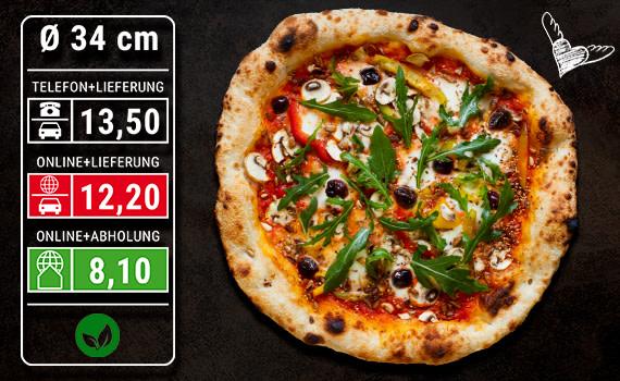 Pizza Vegetariana Ø 34cm