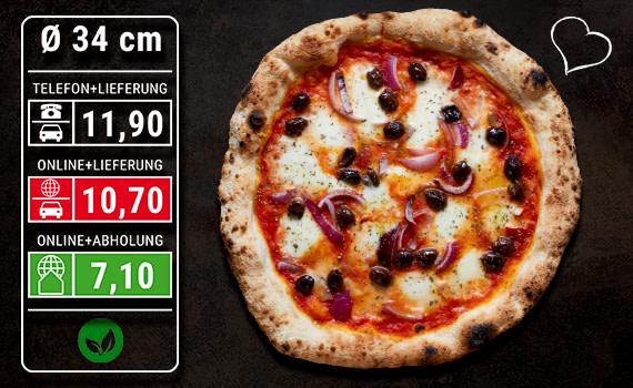 Pizza Cipolle Ø 34cm