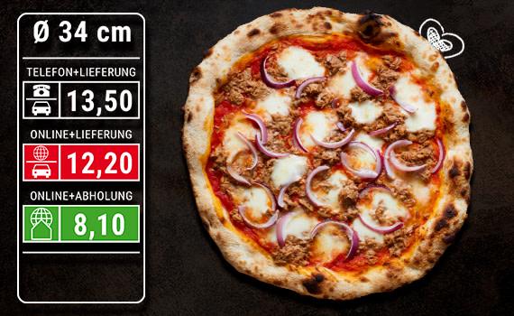 Pizza Tonno Ø 34cm