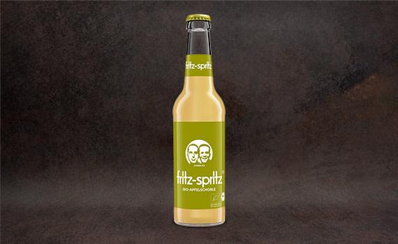 fritz-spritz ® bio-apfelsaftschorle, 0,33L
