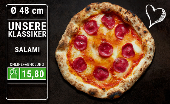 Pizza Salami Ø 48cm
