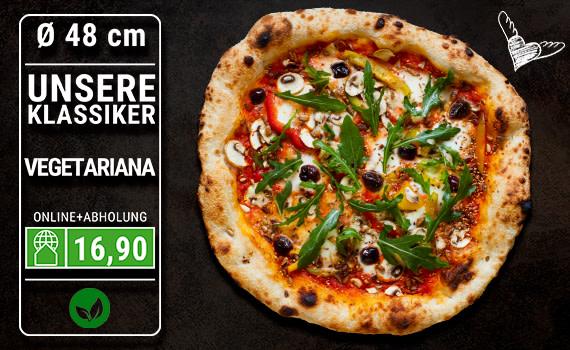 Pizza Vegetariana Ø 48cm