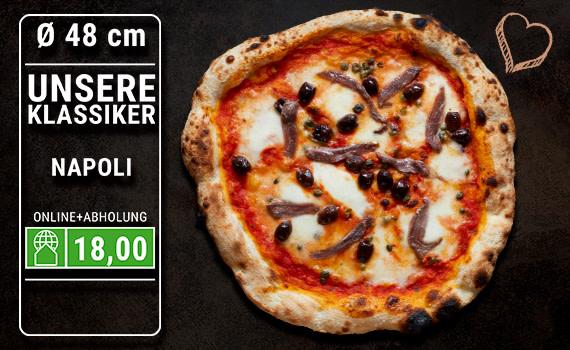 Pizza Napoli Ø 48cm