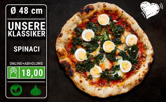 Pizza Spinaci Ø 48cm