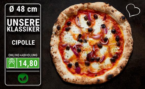 Pizza Cipolle Ø 48cm