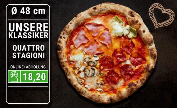 Pizza Quattro Stagioni Ø 48cm