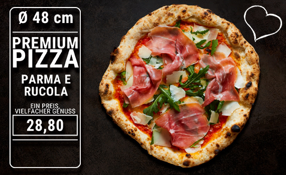 Pizza Parma e Rucola Ø 48cm