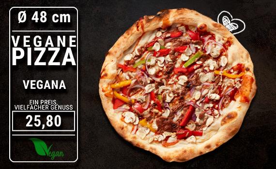 Pizza Vegana Ø 48cm