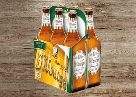 Bitburger Bier 0,5 l Sixpack