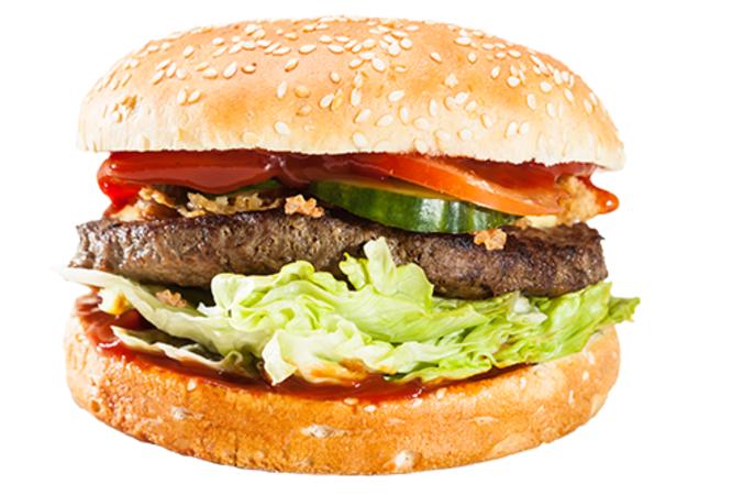 Burger Planet Mega Burger