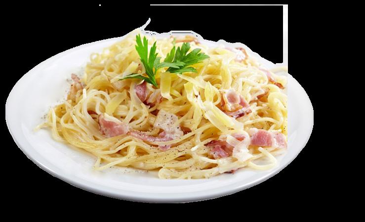 Spaghetti mit Carbonarasauce