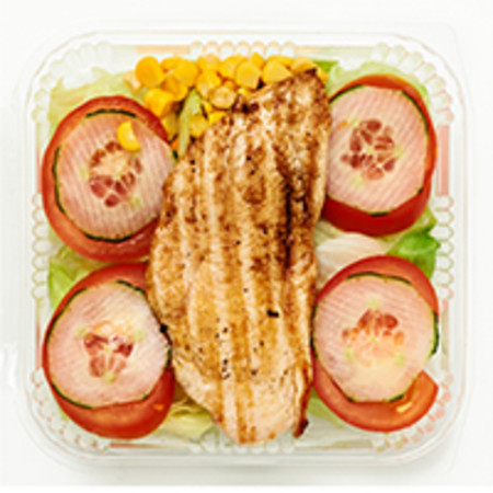 Fitness Salat ohne Dressing