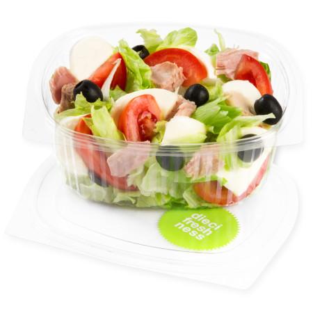 Dieci Salat ohne Dressing