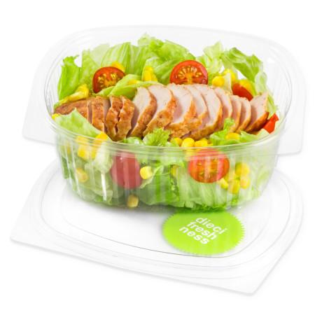 Poulet Salat ohne Dressing