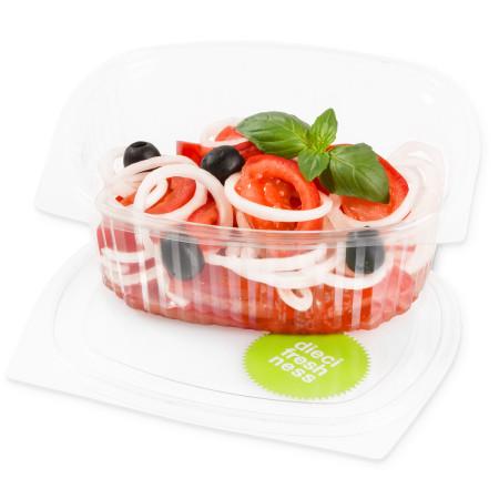Tomatensalat mit Zwiebeln Italian