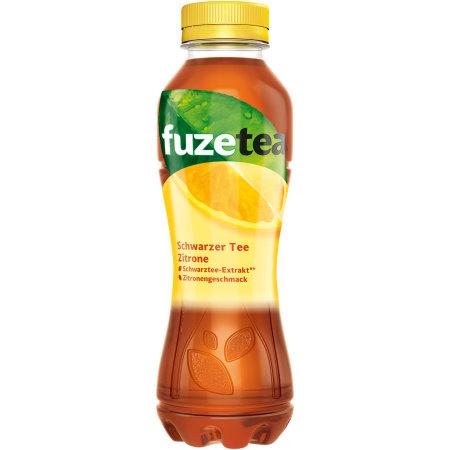 Fuze Tea Zitrone Schwarzer Tee mit Zitrone Geschmack