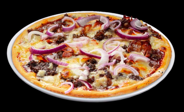 Pizza Georgia Solo 25 cm<sup>A,K,F</sup>