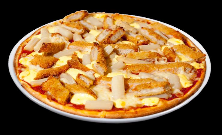 Butterspargelpizza Big 32 cm<sup>F</sup>