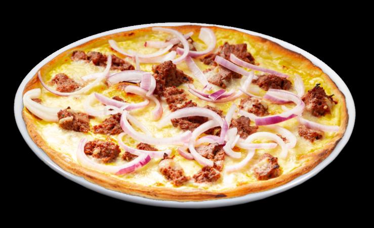 Pizza grobe Leberwurst Solo 25 cm<sup>F</sup>
