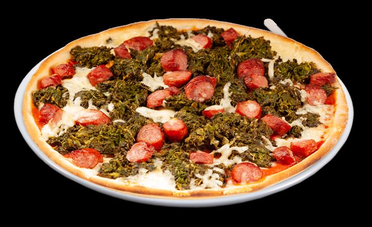 Pizza Grünkohl Solo 25 cm