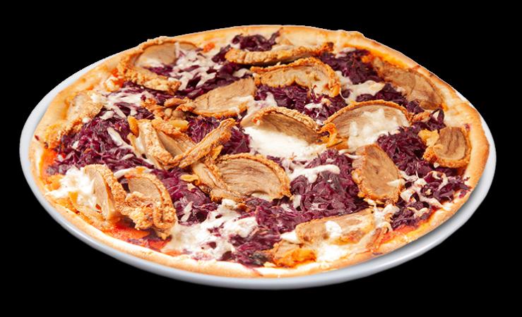 Pizza Ente & Rotkohl Family 40 cm
