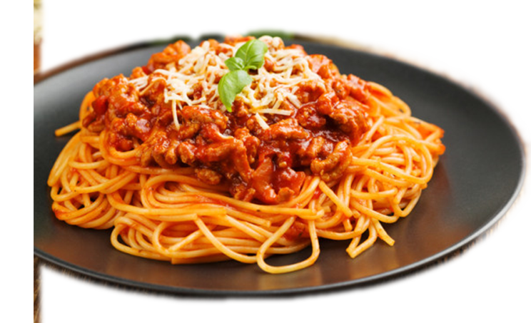 Spaghetti mit Bolognesesauce<sup>K,F</sup>