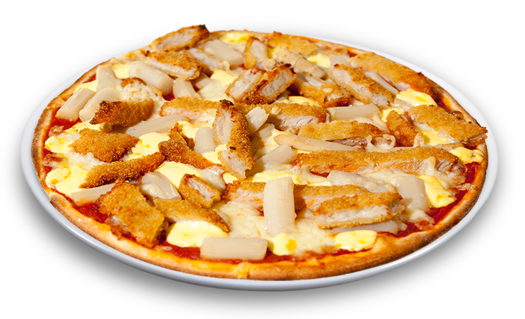 Butterspargelpizza<sup>F</sup>