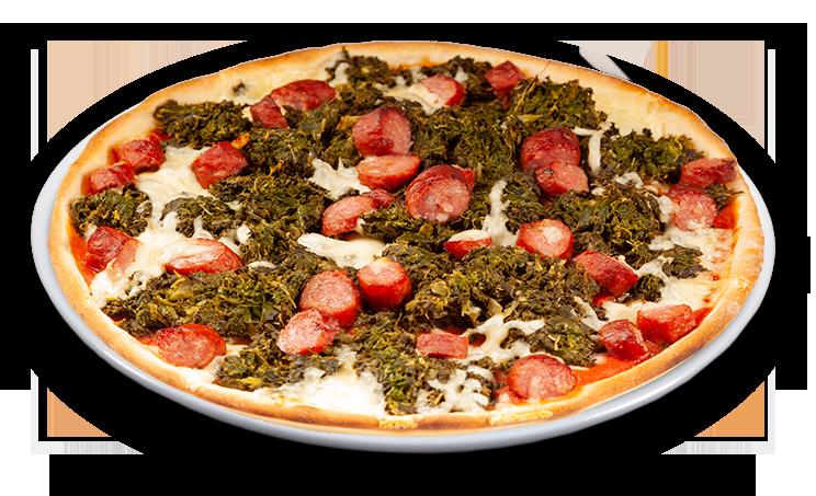 Pizza Grünkohl