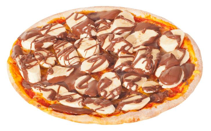 Pizza Nutella-Banane Solo 25cm <sup>F,K</sup>